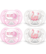 Philips AVENT Ultra Soft Pacifier Dreams and Swan Designs