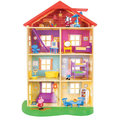 Peppa Pig Peppa\'s Lights and Sounds Family Home Playset
