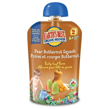 Earth\'s Best Organic Baby Food Puree Pouch