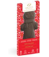 Galerie au Chocolat Dark Chocolate Gingerbread Man Shaped Bar
