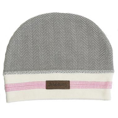 Juddlies Newborn Cap Beach Grey