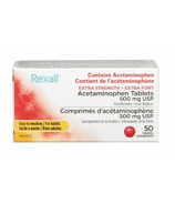 Rexall Acetaminophen 500mg Easy Swallow