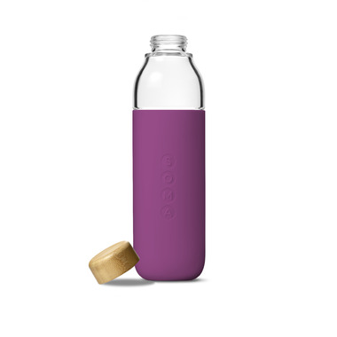 Soma Water Bottle 17oz Eggplant