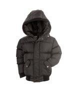 Appaman Black Puffy Coat