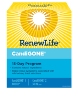 Renew Life CandiGONE 15 Day Program 1 Kit