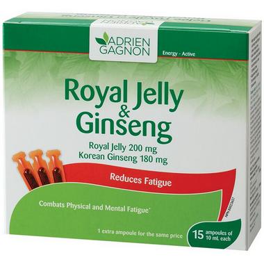 Adrien Gagnon Royal Jelly & Ginseng