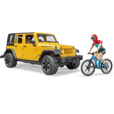 Buy Bruder Toys Jeep Wrangler With Mountain Bike Figure From Canada At Well Ca Free Shipping