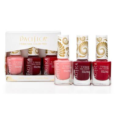 Pacifica 7 Free Nail Polish Set - Red