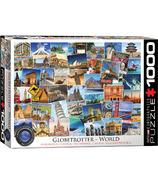 Eurographics puzzle voyageur du monde