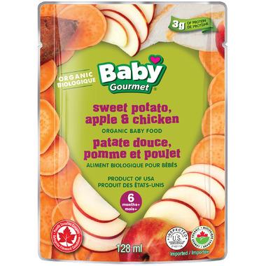 Baby Gourmet Sweet Potato, Apple & Chicken Baby Food