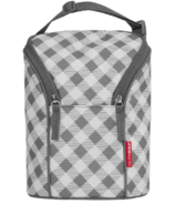 Skip Hop Grab & Go Double Bottle Bag Gingham