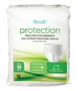 Rexall Unisex Maximum Protective Underwear Large