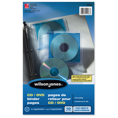 Acco CD/DVD Binder Pocket Pages