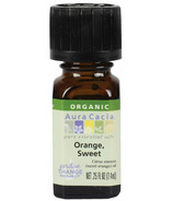 Aura Cacia Organic Sweet Orange Essential Oil