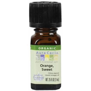 Aura Cacia Organic Sweet Orange Essential Oil
