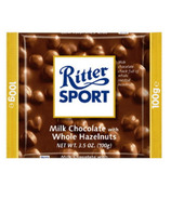Ritter Sport Whole Hazelnuts Chocolate Bar