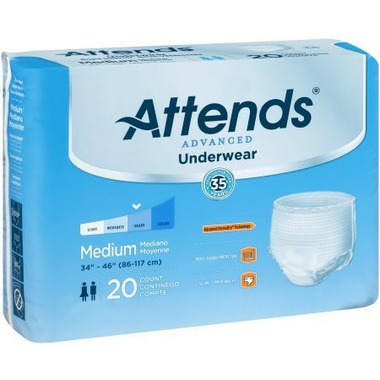 Attends Super Plus Absorbency Protective Underwear