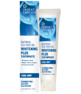 Desert Essence Whitening Plus Toothpaste with Tea Tree Oil