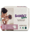 Bambo Nature Premium Baby Diapers Size 1