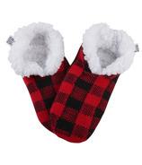 Chaussons chauds et douillets pour enfants Hatley Buffalo Plaid