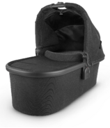 UPPAbaby V2 Bassinet Jake Black Carbon Black Leather