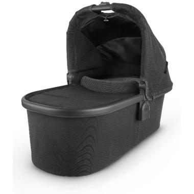 Buy UPPAbaby V2 Bassinet Jake Black Carbon Black Leather ...