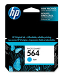 HP 564 PhotoSmart Cyan Ink Cartridge HEWCB318WC140