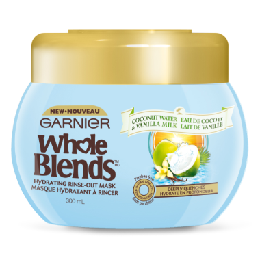 Garnier Whole Blends Coconut Water Vanilla Milk Hydrating Mask