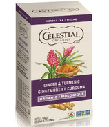 Celestial Seasonings Organic Ginger Turmeric Herbal Tea