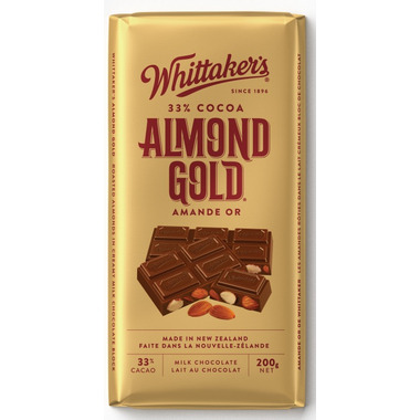Whittaker\'s Almond Gold Chocolate