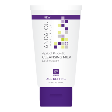 ANDALOU naturals Age Defying Apricot Probiotic Cleansing Milk Travel Size