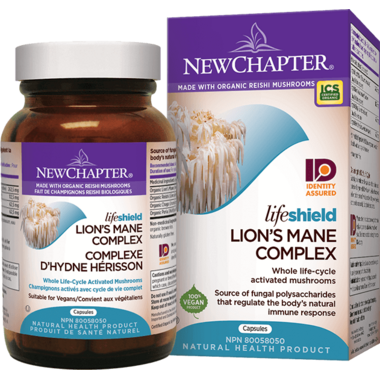 New Chapter LifeShield Lion\'s Mane Whole Life-Cycle Activated Mushrooms