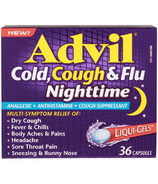 Advil Cold, Cough and Flu Nighttime