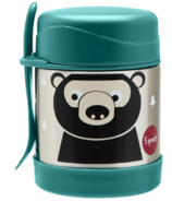 3 Sprouts Stainless Steel Food Jar Bear