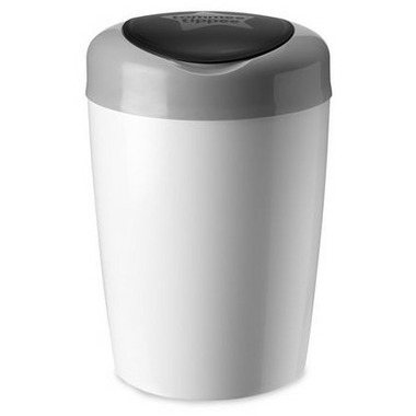 Tommee Tippee Simplee Diaper Pail With 4 Refills Grey