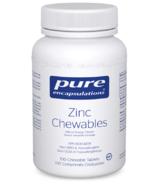 Pure Encapsulations Zinc Chewables