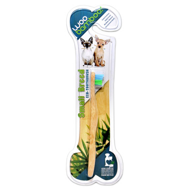 Woobamboo Bamboo Toothbrush For Pets Small Breed