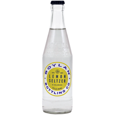 Boylan Bottling Lemon Seltzer