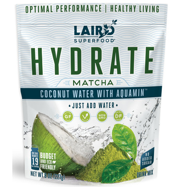 Laird Superfoods Hydrate Coconut Water Matcha