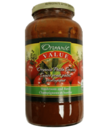 Organic Value Organic Pasta Sauce Mushroom and Basil
