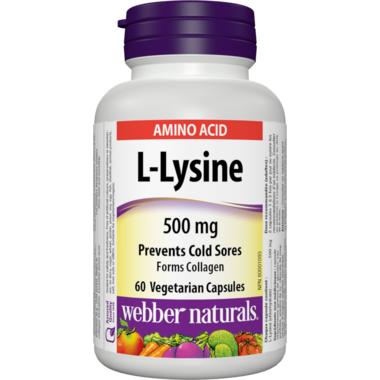 Webber Naturals L-Lysine Capsules