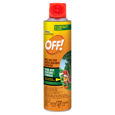 OFF! Area Bug Spray Yard & Deck