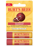 Burt's Bees Pomegranate Lip Balm Twin Pack