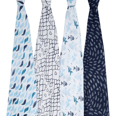aden + anais Classic Swaddles Gone Fishing
