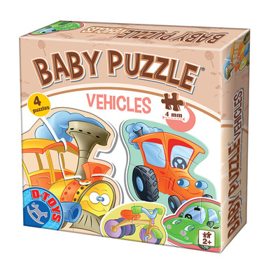 D-TOYS Vehicles Baby Puzzle