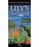 Lily's Sweets Dark Chocolate Bar Crispy Rice