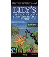 Lily's Sweets Dark Chocolate Bar Crispy Rice