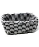 Natural Living Rope Basket Grey