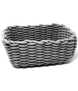 Natural Living Rope Basket Grey