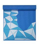 Gaiam Kids 3mm Printed Yoga Mat Blue Rocket